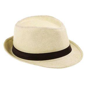 chapeaux de paille achat vente chapeaux de paille pas cher cdiscount. Black Bedroom Furniture Sets. Home Design Ideas