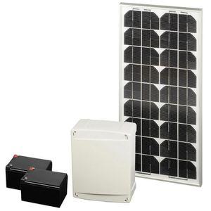scs sentinel kit d 39 alimentation solaire 12 24v pour. Black Bedroom Furniture Sets. Home Design Ideas