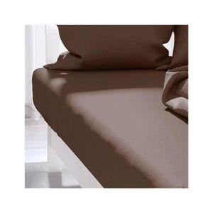 drap housse lit 1 personne achat vente drap housse lit 1 personne pas cher cdiscount. Black Bedroom Furniture Sets. Home Design Ideas