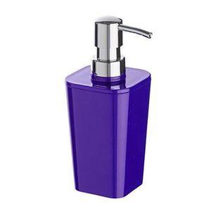 maison r distributeur de savon violet