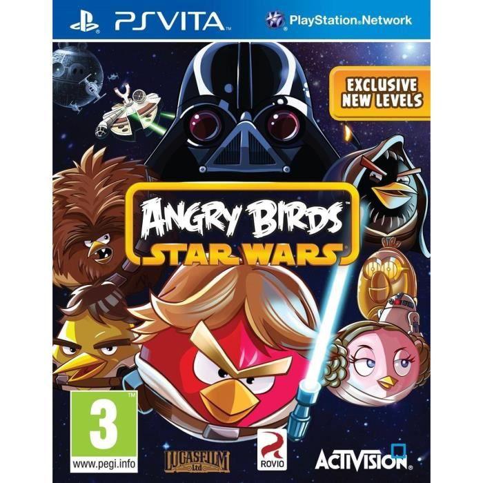JEU PS VITA Angry Birds Star Wars Jeu PS Vita