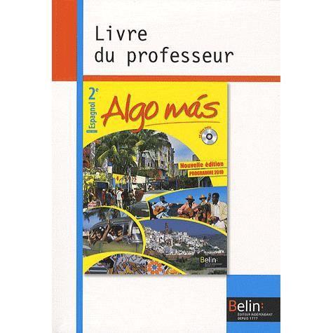 Livre Seconde Espagnol Edition Belin Upgrovlighti Ml
