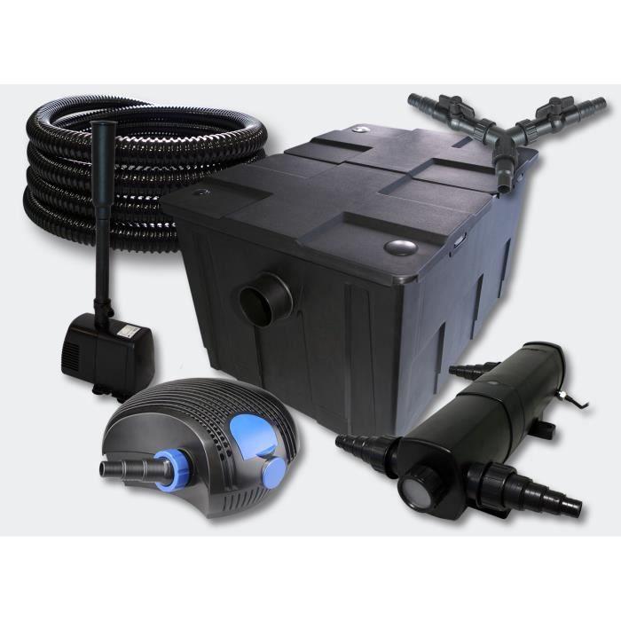 kit filtration complet 18w fontaine pour bassins de 35000 l achat vente bassin d ext 233 rieur