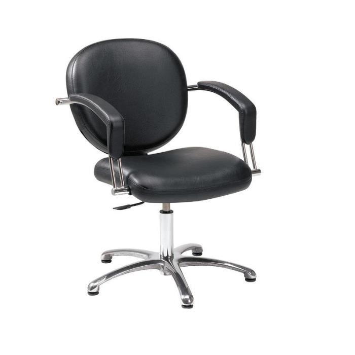 fauteuil cus de coiffure achat vente fauteuil bois m 233 tal pvc aluminium cdiscount