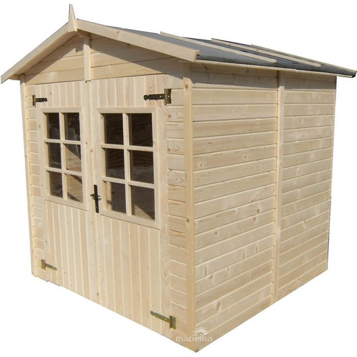 Abri de jardin en bois surface 4 02 m achat vente for Abri de jardin en bois en solde
