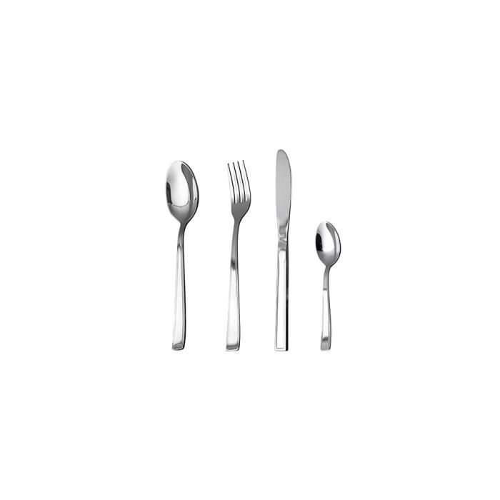 Home lot 12 les cuill res caf milano inoxydable for Ustensiles de cuisine soldes