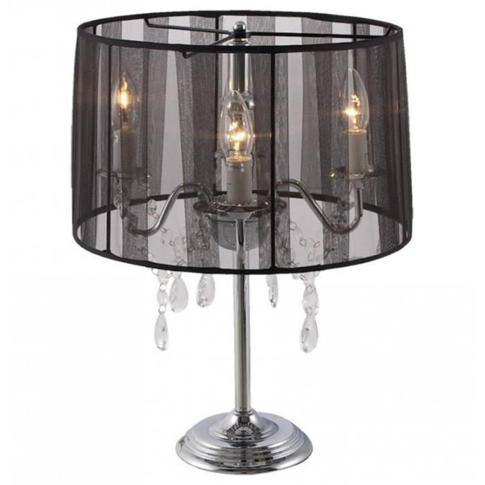lampe de chevet 39 klassik 39 noire chandelier baroque. Black Bedroom Furniture Sets. Home Design Ideas