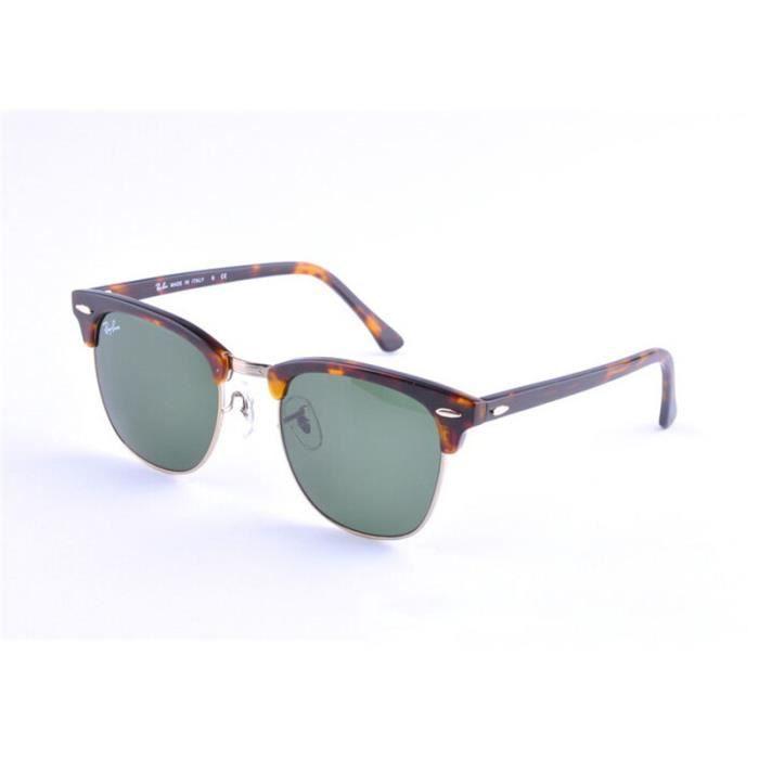 lunettes de soleil ray ban clubmaster rb 3016 achat vente lunettes de soleil mixte adulte. Black Bedroom Furniture Sets. Home Design Ideas