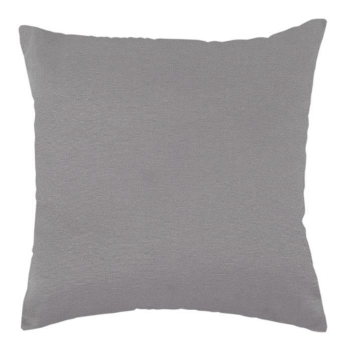grand coussin polycoton 60x60 cm beige achat vente. Black Bedroom Furniture Sets. Home Design Ideas