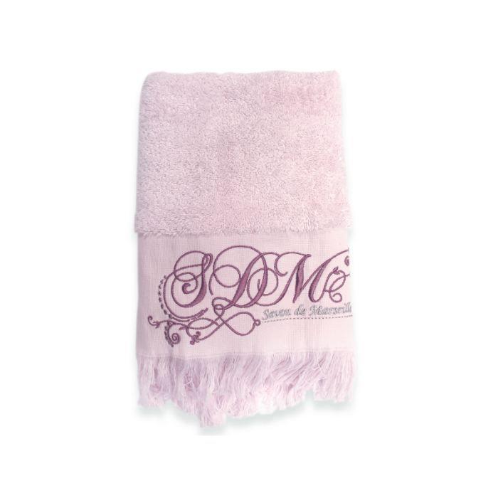serviette de bain romantique p tale achat vente. Black Bedroom Furniture Sets. Home Design Ideas