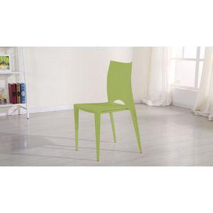 Chaise De Jardin Verte Plastique Achat Vente Chaise De