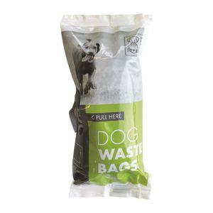 MPETS Sachets recharge ramasse crottes DOG WASTE BAG - Pour chien - 6x15pcs - Noir