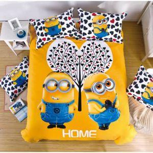 lit enfant les minions achat vente lit enfant les minions pas cher cdiscount. Black Bedroom Furniture Sets. Home Design Ideas