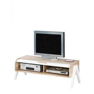 meuble tv avec pied achat vente meuble tv avec pied - Meuble Tv Blanc Laque Sans Pied