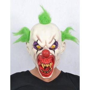 Masque clown halloween achat vente jeux et jouets pas for Decoration qui fait peur