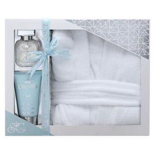 EAU DE PARFUM coffret de bain-fleur de lys rose blanche&cananga(