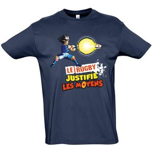 T-SHIRT T-shirt Le Rugby Justifie les mo…