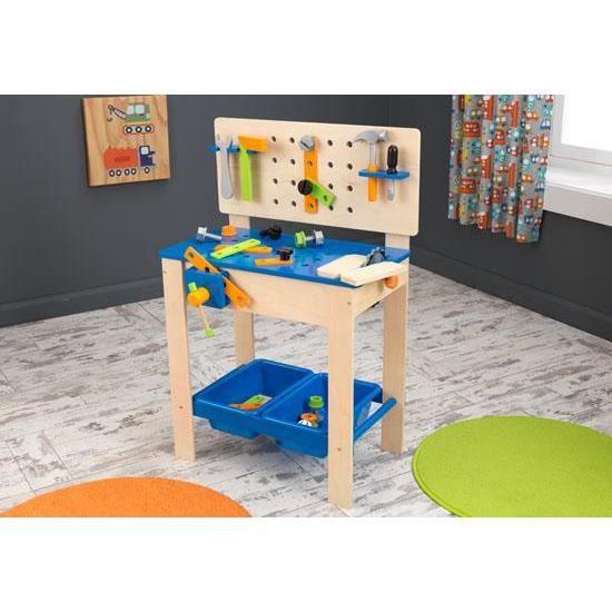 tabli avec outils en bois luxe jouet pour enfant achat. Black Bedroom Furniture Sets. Home Design Ideas