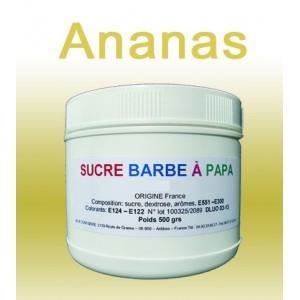 sucre barbe papa ananas 500g achat vente. Black Bedroom Furniture Sets. Home Design Ideas
