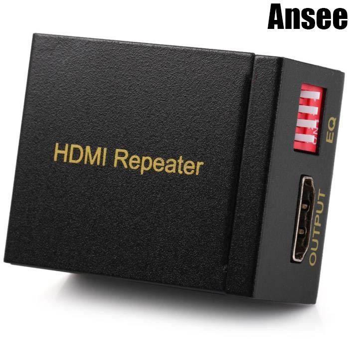 hdmi amplificateur de signal r p titeur soutien 3d compressed audio pour la hd 1080p tv dvd. Black Bedroom Furniture Sets. Home Design Ideas