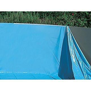 Liner piscine toi magnum ronde 460 x 132cm bleu achat for Coque piscine ronde