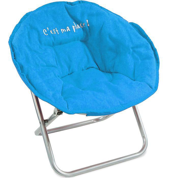 fauteuil enfant pliable bleu achat vente fauteuil bleu cdiscount. Black Bedroom Furniture Sets. Home Design Ideas