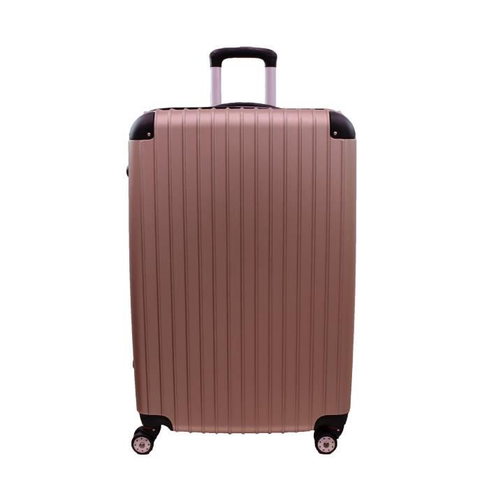 bagage icepak valise taille cabine champagne 4 roues. Black Bedroom Furniture Sets. Home Design Ideas