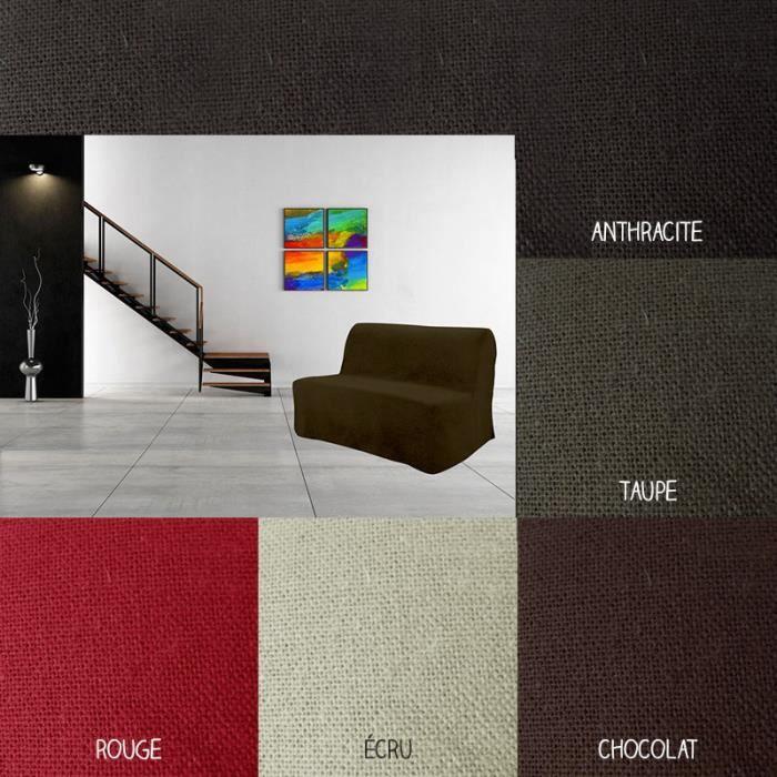 housse pour canap bz 140 x 204 cm diff ren achat vente housse de canape cdiscount. Black Bedroom Furniture Sets. Home Design Ideas