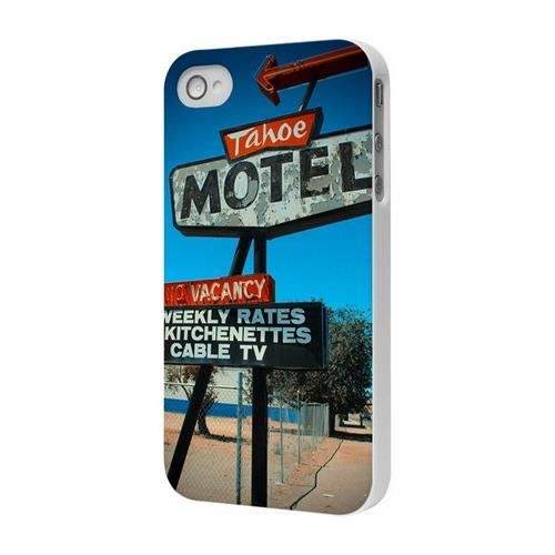 Coque vintage collection motel by moxie pour iphone 4 4s for Motel pas cher