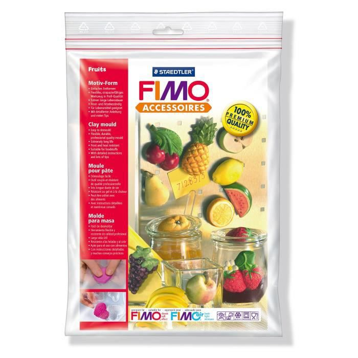 Fimo moule fruits 158mm x 238mm achat vente pate polym re fimo moule fruits soldes d t - Pate fimo a 1 ...