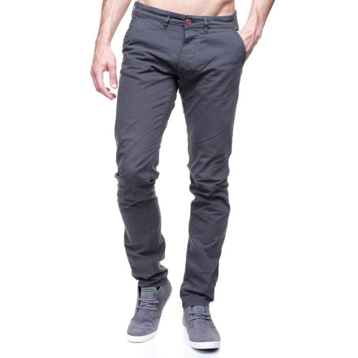 jeans jack jones chino bolton gris achat vente jeans chino. Black Bedroom Furniture Sets. Home Design Ideas