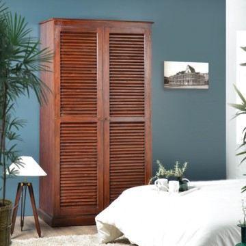 armoire en acajou 200 loggia achat vente armoire de. Black Bedroom Furniture Sets. Home Design Ideas