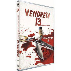 DVD FILM DVD Vendredi 13 - Chapître 5 - Nouvelle terreur