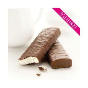 Fondante barre chocolat lait saveur coco