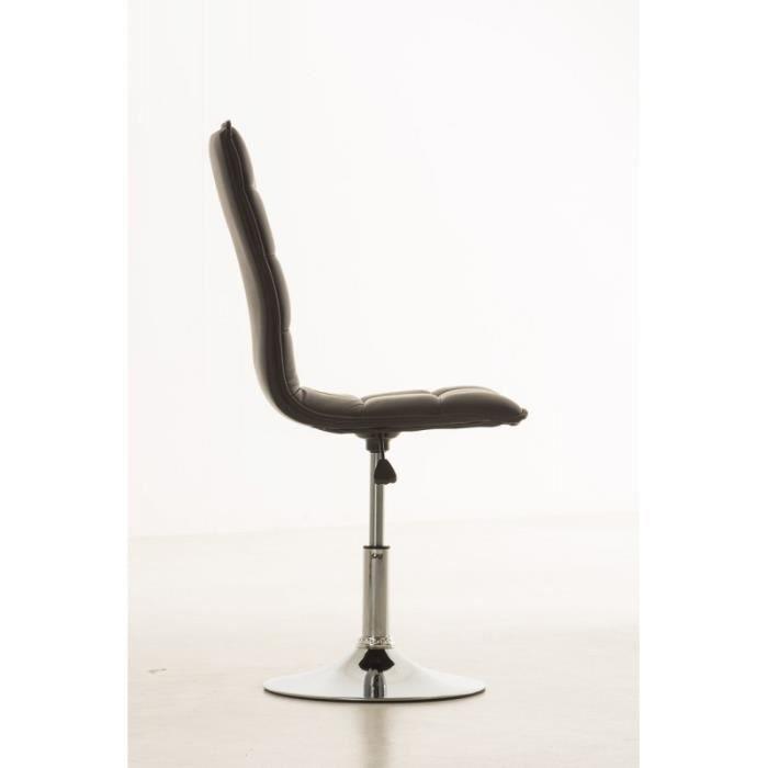 chaise de salle a manger noir confortable - achat / vente chaise ... - Chaises Confortables Salle Manger