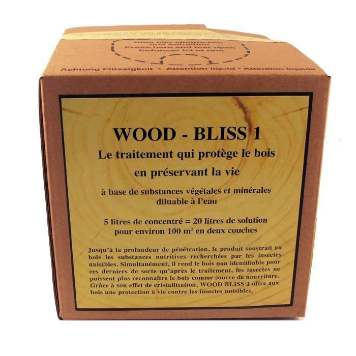 protection bois concentr 1l 20m2 wood bliss achat vente peinture vernis protection bois. Black Bedroom Furniture Sets. Home Design Ideas