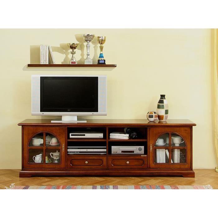 meuble tv style classique 2 portes achat vente meuble