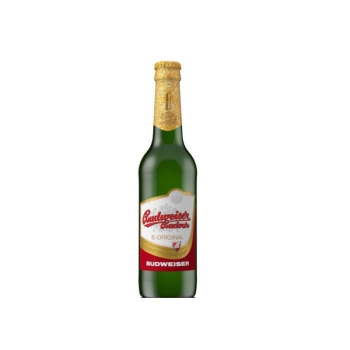 budweiser budvar original 33 cl achat vente biere budweiser budvar original 33cl cdiscount. Black Bedroom Furniture Sets. Home Design Ideas
