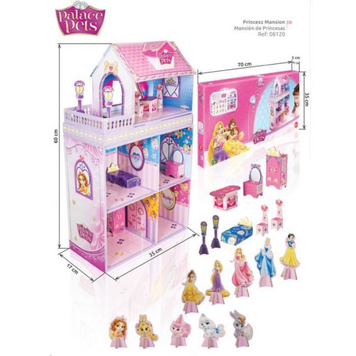 princesses palace pets mansion maison de poup es achat. Black Bedroom Furniture Sets. Home Design Ideas