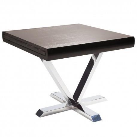 table salle manger extensible sandro wenge achat vente table basse table salle manger. Black Bedroom Furniture Sets. Home Design Ideas