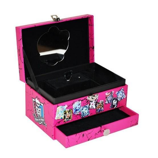 bo te bijoux musicale monster high so cool achat. Black Bedroom Furniture Sets. Home Design Ideas