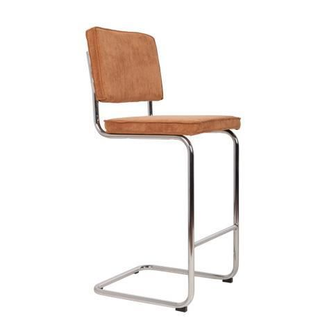 Chaise de bar ridge rib pieds chrom s tissu camel achat vente chaise chro - Cdiscount chaise de bar ...