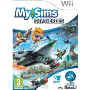 JEUX WII MY SIMS SKYHEROES / Jeu console Wii