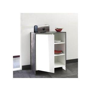 Meuble bas cuisine 3 portes achat vente meuble bas for Achat porte cuisine