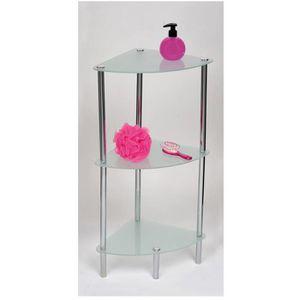 Meuble d angle achat vente meuble d angle pas cher - Petit meuble en verre ...