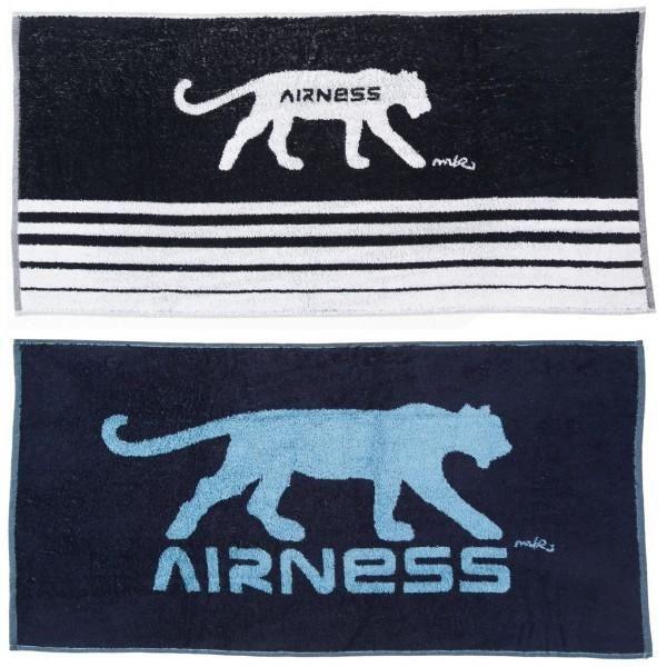 2 serviettes de bain airness blanc bleu achat vente serviettes de bain cdiscount - Lot de serviette de bain destockage ...