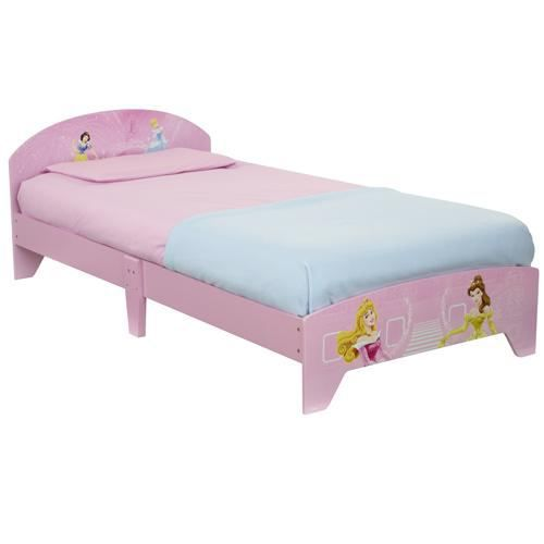 lit enfants disney princesse achat vente lit complet lit enfants disney princesse cdiscount. Black Bedroom Furniture Sets. Home Design Ideas