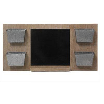 range courrier ardoise 4 compartiments en zinc et achat. Black Bedroom Furniture Sets. Home Design Ideas