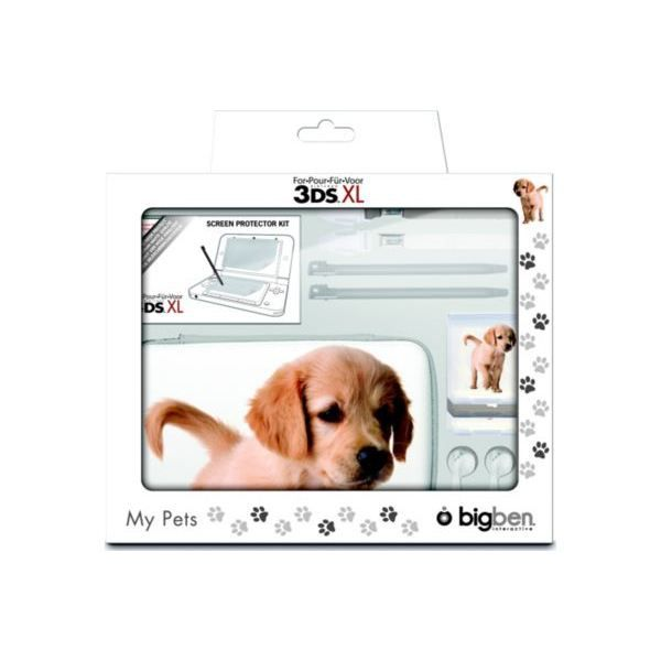 Pack bigben pack essential 3ds xl chie achat vente for Housse 2ds bigben