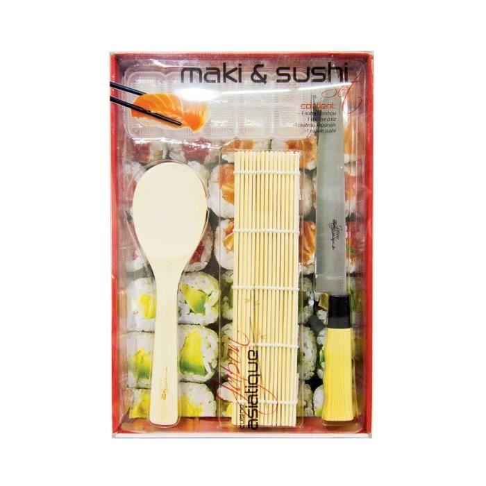 Coffret pr paration sushi achat vente set cuisine - Coffret cuisine creative ...